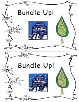Bundle Up!  Winter Word Emergent Reader