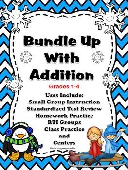 Winter Addition Activities