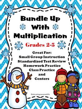 Multiplication - Winter Math Activities