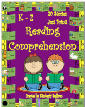 Bundle Valentines day printables + reading comprehension passages and questions