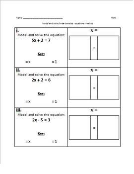Bundle: Variables (Modeling Equations)