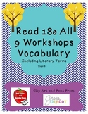 BUNDLE! (WS 1-9) Read 180 Stage B Vocabulary - NEXT GENERATION