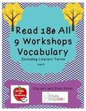 BUNDLE! (WS 1-9) Read 180 Stage B Vocabulary - NEXT GENERATION