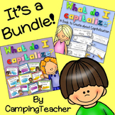Capitalization Posters and A Book to Create BUNDLE