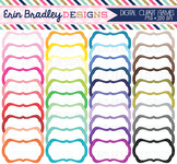 Bundle White Digital Clipart Frames