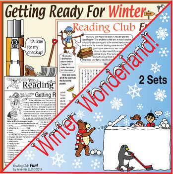 Bundle: Winter Activity Pages and Puzzle