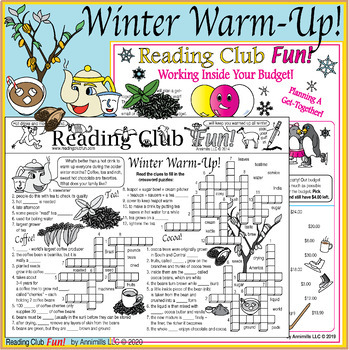 Bundle: Winter Beverages and Activities Two-Page Activity