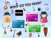 Bundle Winter Holiday Set 2 Answer Key, Worksheets, Poster, Instrument & Vocal