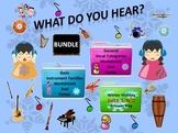 Bundle Winter Holiday Sets 1&2 Answer Keys, Worksheets, Poster, Instrument/Vocal
