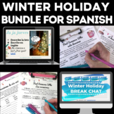Bundle - Winter Holidays in Spanish Class
