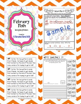 Bundle!  Winter Math: Solving Story Problems