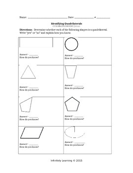 Bundle Worksheets - 2nd Math - ALL Geometry CC Standards