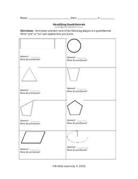 Bundle Worksheets - 2nd Math - ALL Geometry CC Standards