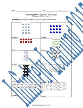 Bundle Worksheets - 2nd Math - ALL Operations & Algebraic Thinking CC Standards