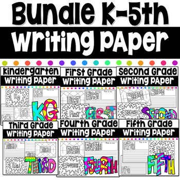 Bundle Writing Coloring Pages First Day of School Kg- 5th #christmasinjuly