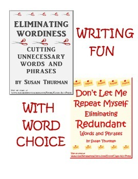 Bundle: Writing Fun with Word Choice (12 Pages, Ans. Keys Included, $6)