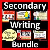 Writing Bundle: Secondary