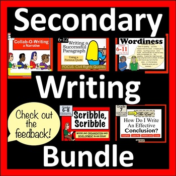 Writing Bundle: Middle School