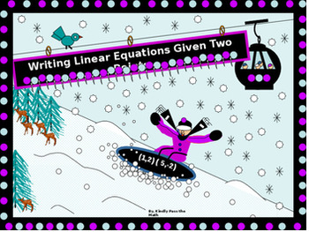 Bundle: Power Points over Writing Linear Equations