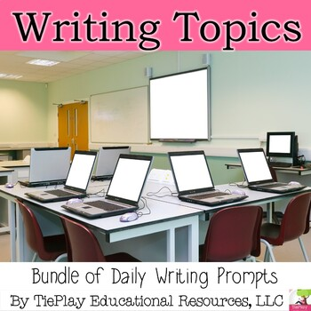 Bundle Digital Writing Prompt Units Interactive Whiteboard