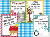 Bundle Writing Workstation Jar of Spring, Summer, Fall, Winter Writing Prompts