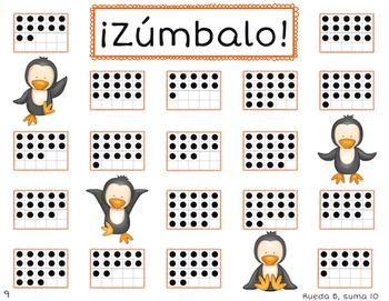 *Bundle* ¡Zúmbalo! Bilingual Bump Math Games - Place Value Edition