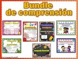 Bundle de comprension: Secuencia, Homografos, Lenguaje Sensorial, Causa y Efecto
