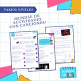 Bundle de español con canciones