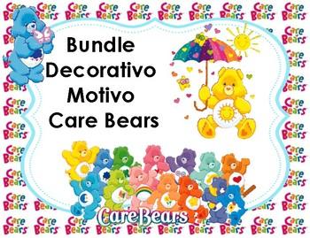 Bundle decorativo Motivo Care Bears