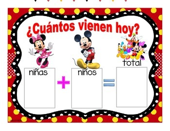 Bundle decorativo - Motivo Mickey & Friends