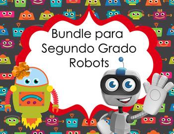Bundle decorativo motivo Robot para Segundo Grado