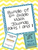 Bundle every 5th Grade Math teacher NEEDS CCSS aligned