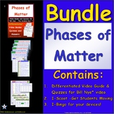 Bundle for Bill Nye - Phases of Matter ** Elementary Lessons