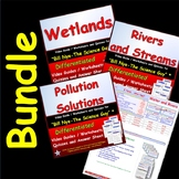Chesapeake Bay Foundation Bundle -  for Bill Nye - Rivers and Streams *