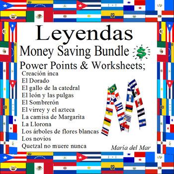Bundle for Hispanic legends and fables (Growing Bundle)