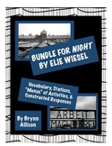 Night by Elie Wiesel Bundle - Vocabulary, Stations, Activi