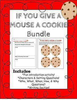 Bundle for Read Aloud: If you give a mouse a cookie