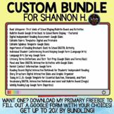 Bundle for Shannon H.
