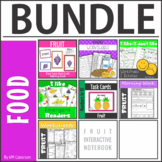Fruit worksheets, flashcards, wordcards BUNDLE