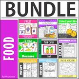 Fruit worksheets, flashcards, wordcards BUNDLE