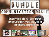 Bundle - jeux de communication orale/ Oral communication