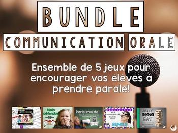 Bundle - jeux de communication orale/ Oral communication