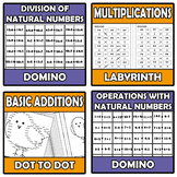 Bundle natural numbers - 8 ITEMS