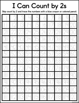 Bundle of 1-120 Chart Activities - Includes Game!