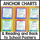 10 Back to School Posters and Interactive Reading Anchor Charts