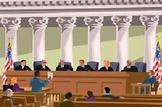 Bundle of 14 - Landmark Supreme Court Cases  Middle School & Unit Vocabulary