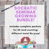 Bundle of 16 Socratic Seminar Packets!  30% off!