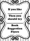 HUGE Bundle of 34  Book Recommendation Flyers - 2-12 grades