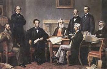 Bundle of 2 - American Civil War - Abraham Lincoln & His Cabinet