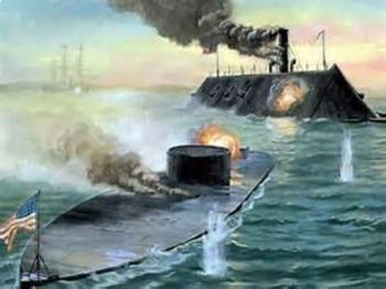 Bundle of 2 - American Civil War - Historic Naval Battles